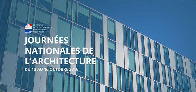Journées nationales de l'architecture 2016