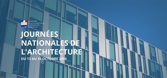 Journées nationales de l'architecture 2016