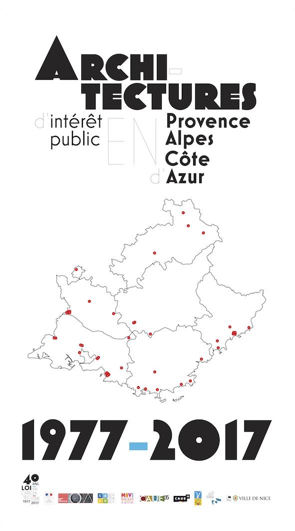 Exposition / 1977-2017 : Architectures d'intérêt public en PACA